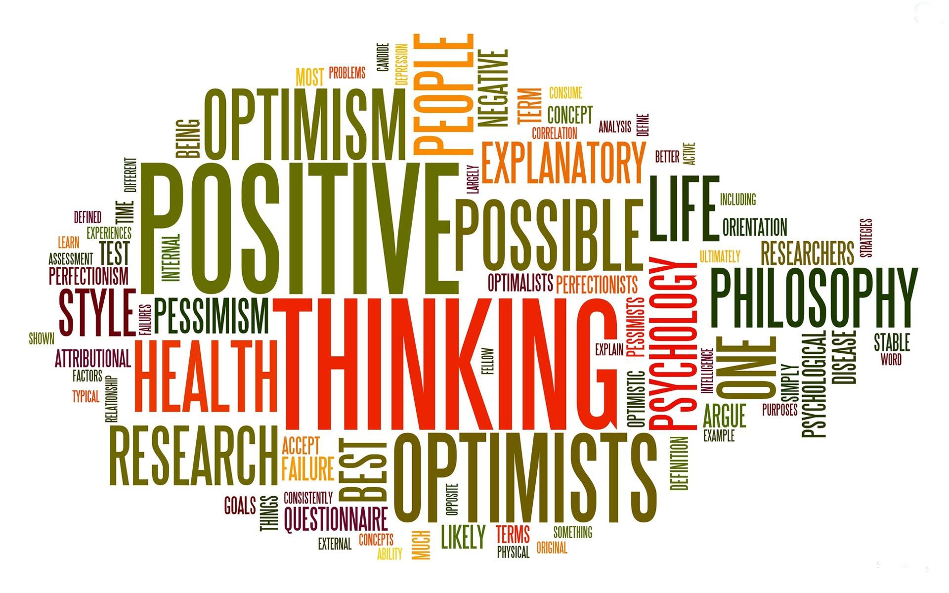 le parole della positività