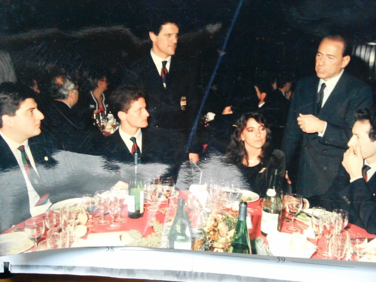 Gigi Giacconi Capello Milan Berlusconi