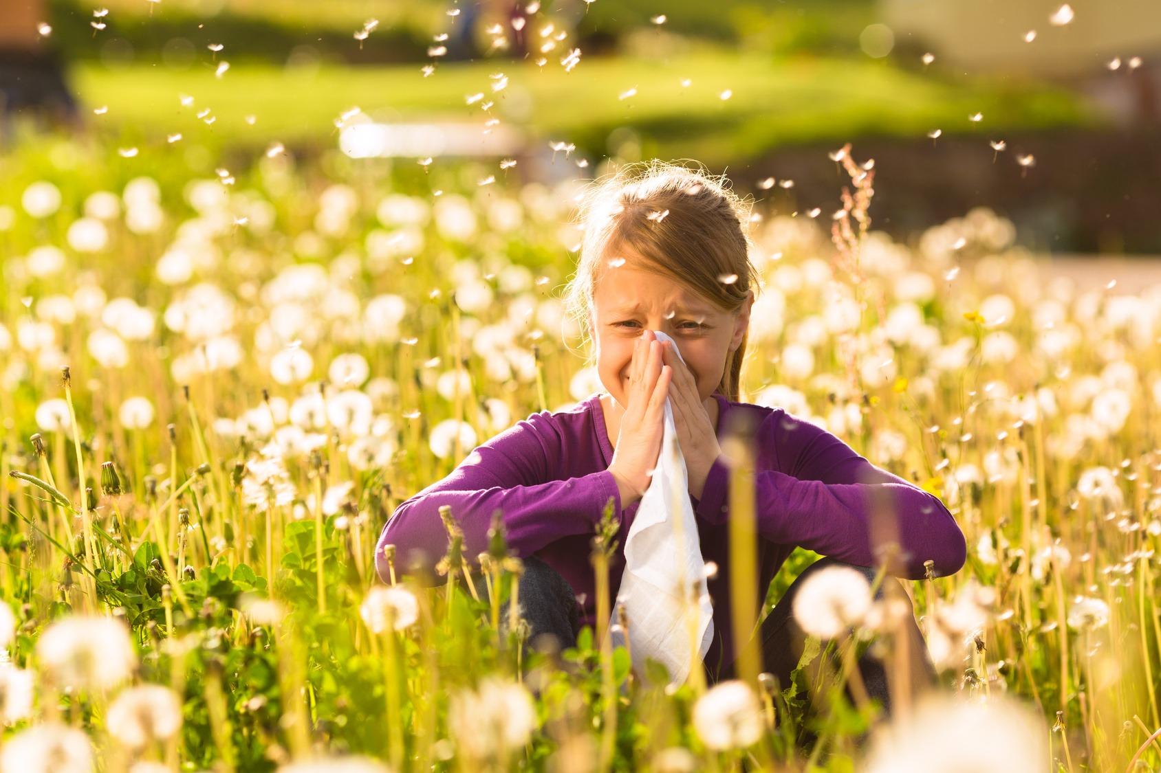 allergia, come alleviare allergia, asma, difficoltà di respirazione