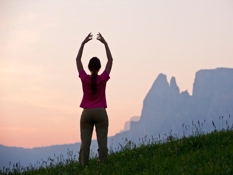 respirare in montagna