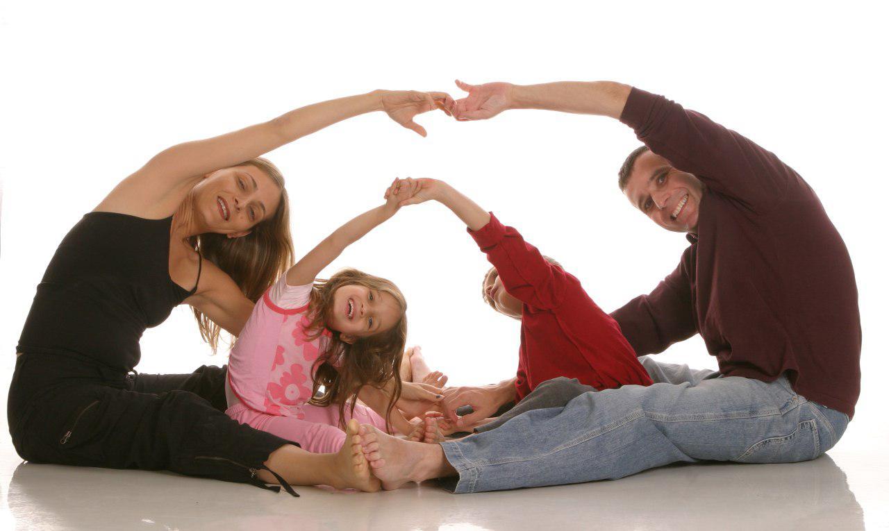 famiglia in armonia
