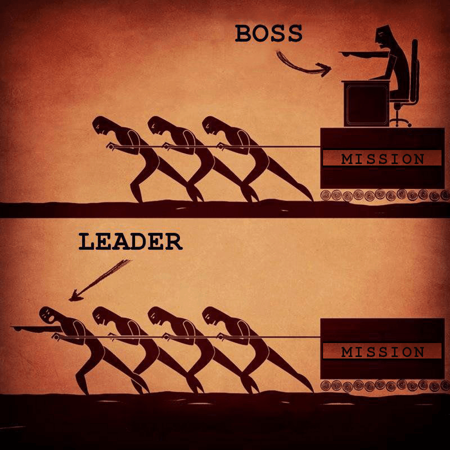 differenza tra capo e leader