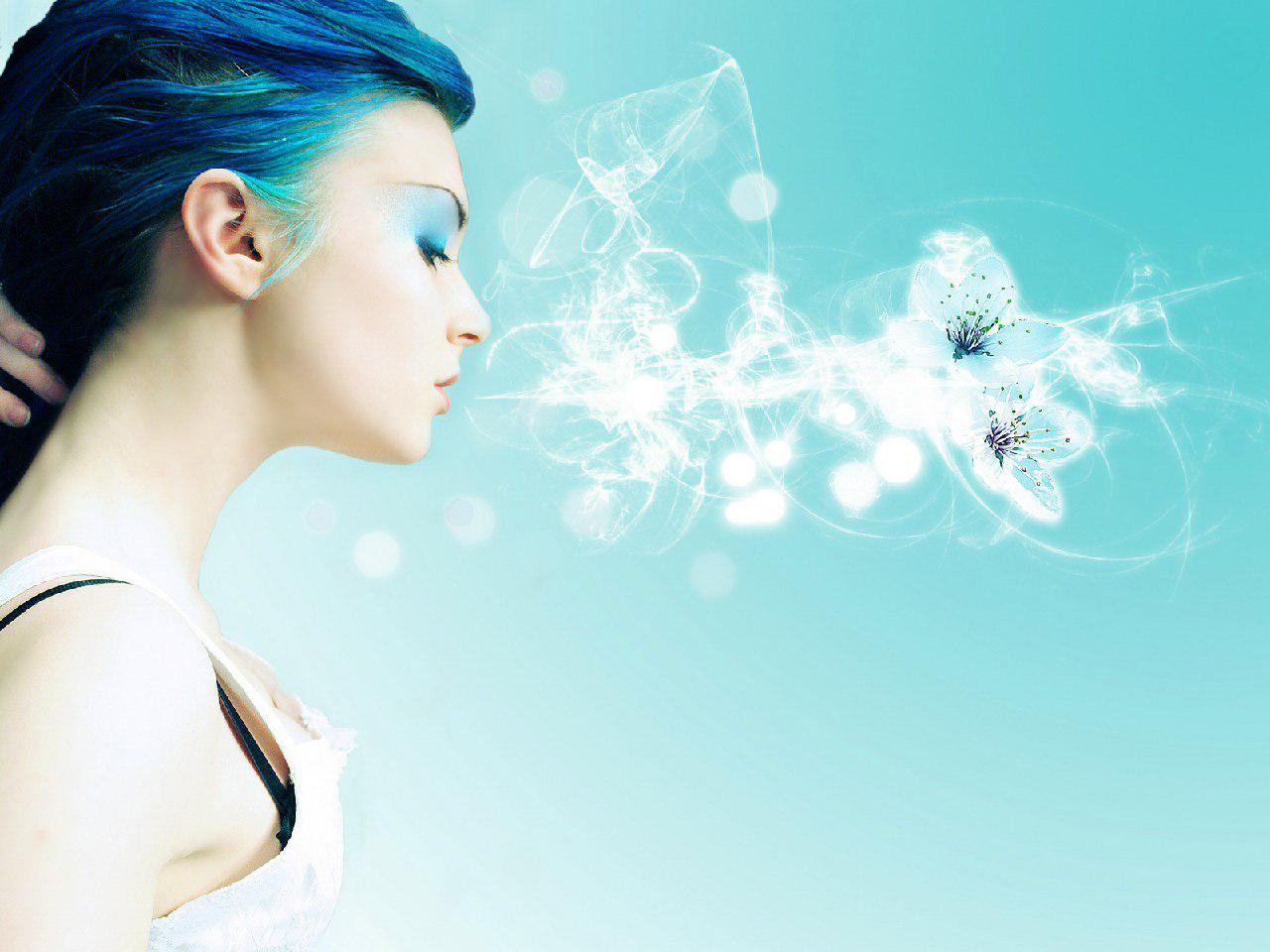 come l'essere umano respira